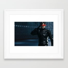 Scott Summers: Cyclops Framed Art Print