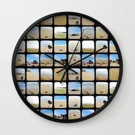 Beach Collective - Through The Viewfinder (TTV) Wall Clock