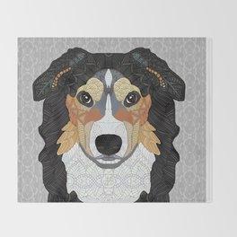 Zeke - mountain dog Throw Blanket