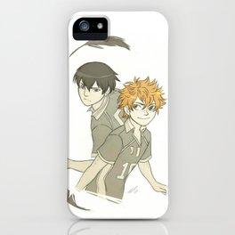 Hinata and Kageyama iPhone Case