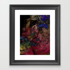 Destroyed Framed Art Print