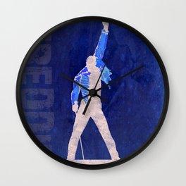 Freddie - Rock Wall 4 of 16 Wall Clock
