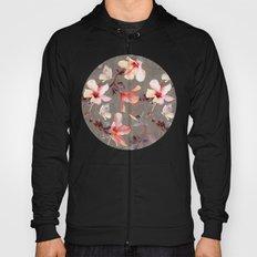 Coral Hibiscus Hoody