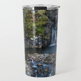 Backyard Waterfall Travel Mug