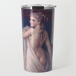 Coming out of bath Travel Mug