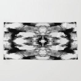 Tie Dye Blacks Beach Towel