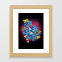 The impossible playground Framed Art Print