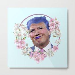 Kawaii Trump - Easter BB Metal Print
