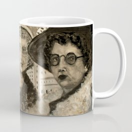 Vintage Ladies Coffee Mug