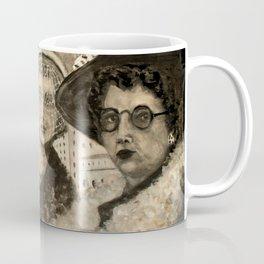 Vintage Ladies Coffee Mug