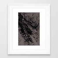 gravity Framed Art Prints featuring Gravity by nicebleed
