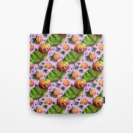 pumpkin lovebird Tote Bag