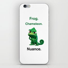 Nuance - Tangled - White iPhone Skin
