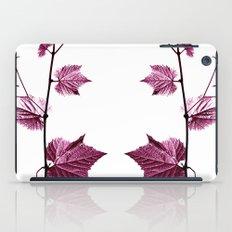 wine leaf abstract I iPad Case