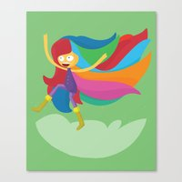 musa Canvas Prints featuring Musa by Juliana Rojas | Puchu