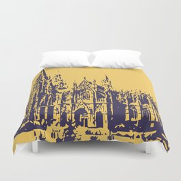 Cologne Cathedral Koelner Dom Duvet Cover