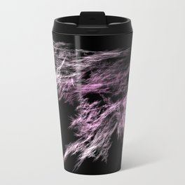collision fractal Metal Travel Mug