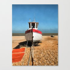 Dungeness Fishing Boat Canvas Print