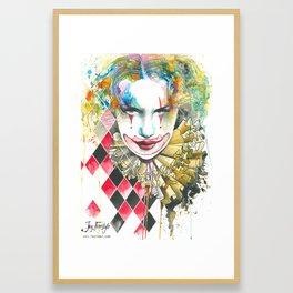 Smile now Framed Art Print