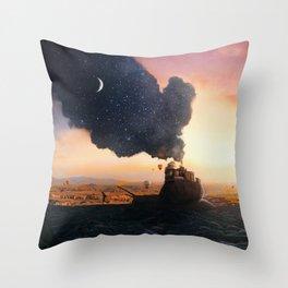 Night Bringer Throw Pillow