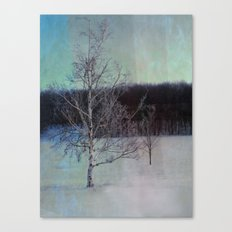 You and I little tree Canvas Print