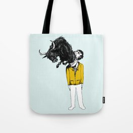 what is likely to happen when one is full of bull Tote Bag