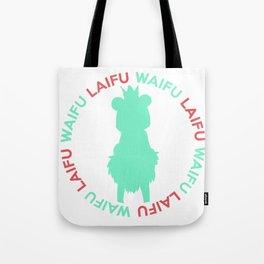 Waifu Laifu Sugar Inspired Shirt Tote Bag