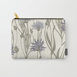 vintage cornflowers Carry-All Pouch