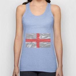 Silk Flag of England and Saint George Unisex Tank Top