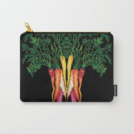 Food illustration - A beautiful bunch of carrots  Carry-All Pouch