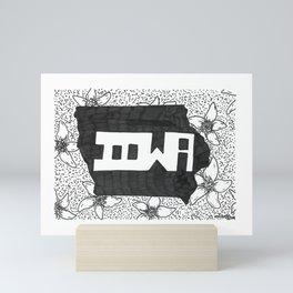 Iowa Mini Art Print