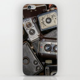A Mess Of Old Cameras 2 iPhone Skin
