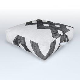 Modern and geometric art XVIII Outdoor Floor Cushion