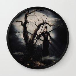 Spooky Halloween Wall Clock
