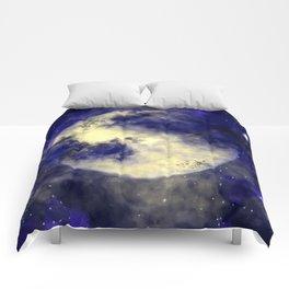 October Full Moon Comforters