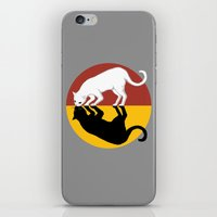 lunar iPhone & iPod Skins featuring Solar & Lunar by Tummeow