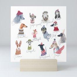All Sighthounds Mini Art Print