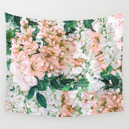 1992 Floral Wall Tapestry