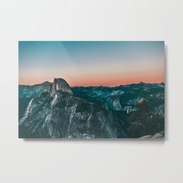 Glacier Point Metal Print