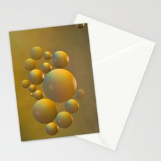 Distant moon. Stationery Cards