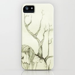 The Burden of Growth iPhone Case