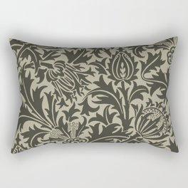 """William Morris """"Thistle"""" 10. Rectangular Pillow"""