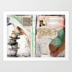 Thinkin' & Planning Art Print