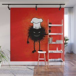 Evil Bug Chef Loves To Cook Wall Mural