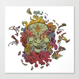 Cyber Genie Canvas Print