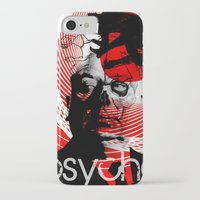 psycho iPhone & iPod Cases featuring psycho by RIGOLEONART