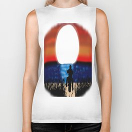 Motorcycle Rider Sunset Biker Tank