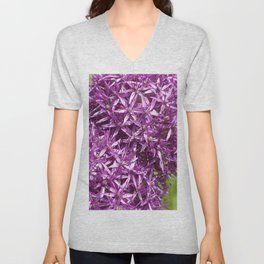 Double Allium Unisex V-Neck