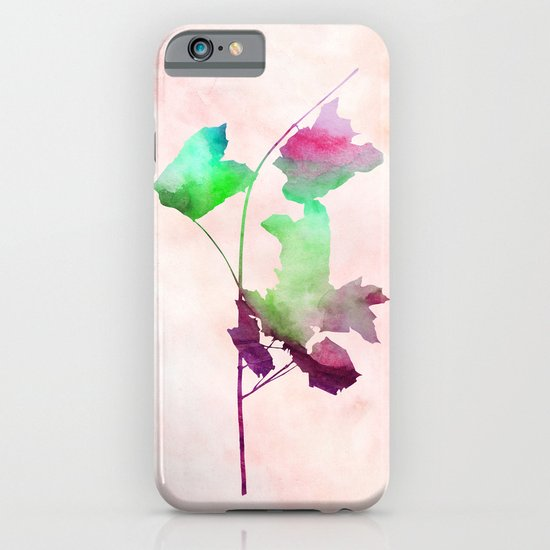 maple 2 watercolor by Jacqueline Madonado & Garima Dhawan iPhone & iPod Case