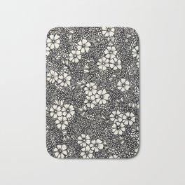 Flowers. Bath Mat